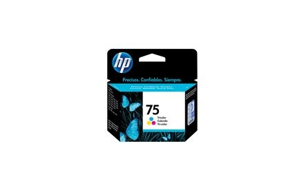 HP 75 - 3.5 ml - color (cian, magenta, amarillo) cartucho de tinta