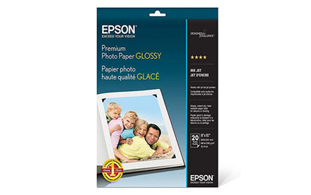 Epson – Brillante – 203 x 254 mm 20 hoja(s) papel fotográfico brillante