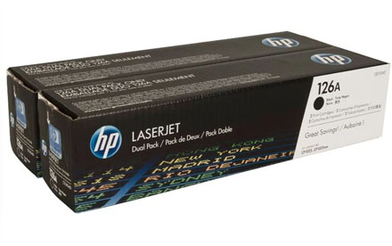 HP - Toner - CE310AD 126A Paquete Doble